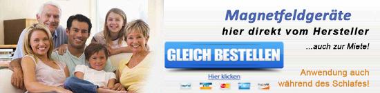 Magnetfeldmatten direkt vom Hersteller kaufen