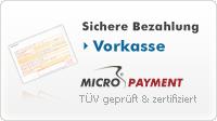 Bezahlen per Vorkasse und später downloaden